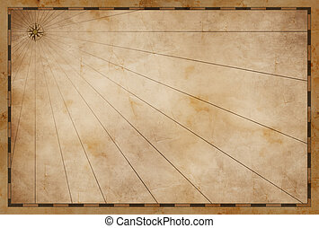old treasure blank map background
