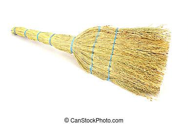broom made from sorghum environmentally friendly thing