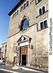 tarquinia, palazzo Vitelleschi - palazzo Vitelleschi,...