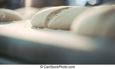 Process of baking breads in 4K - Process of baking breads in...