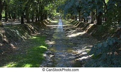 Vrnjacka Banja Rivulet - Small river in Vrnjacka Banja town...