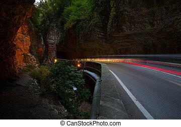 Strada della Forra - unique and famous Strada della Forra...