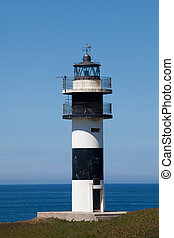 Lighthouse of Ribadeo, Lugo, Galicia, Spain - Lighthouse of...