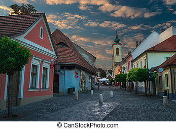 Town of Szentendre in Hungary