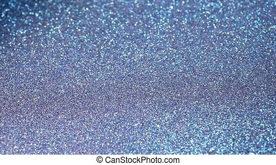 Abstract blue shiny glitter background