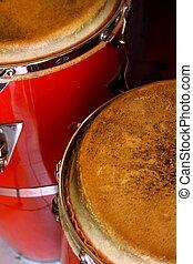 conga, tambores
