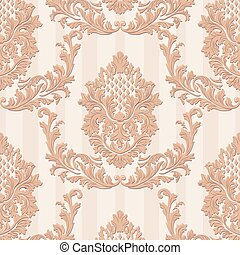 Vintage Luxury Baroque card - Vintage Vector Luxury Baroque...