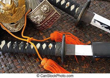 armas,  samurai