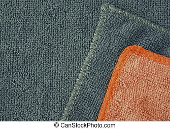 Microfiber cloth surface