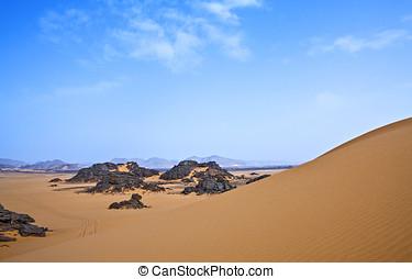 Libya,Sahara desert,the Akakus rocky area