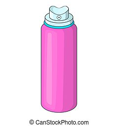 Deodorant icon, cartoon style - Deodorant icon. Cartoon...