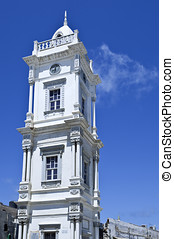 Libya,Tripoli,the Clock Tower in the old Medina