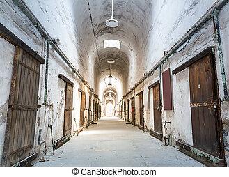 Old grunge prison.