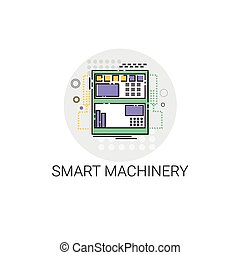 Smart Machinery Industrial Automation Industry Production...