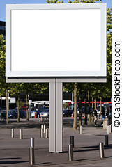 billboard - blank billboard for your advertising
