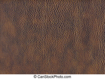 full frame leather background - a full frame abstract brown...