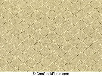 full frame stitched leather background - a full frame...