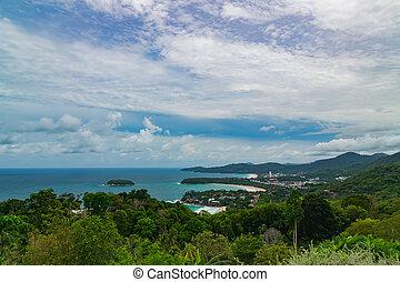 Karon Viewpoint Phuket Thailand - Karon Viewpoint or Khao...