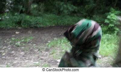 Combat Special Forces training - Russia, summer 2010....