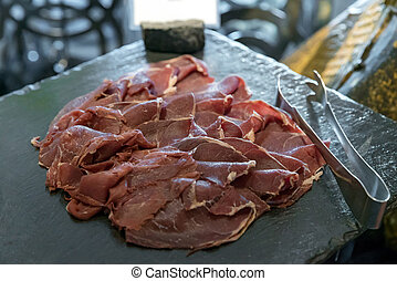 cold cuts meat