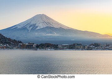 Mountain Fuji Kawaguchiko - Mountain Fuji view from the...
