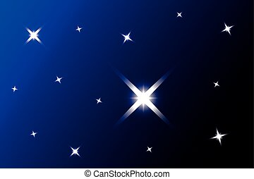 starry sky - blue background with stars,starry sky