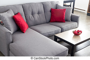 living room interior - appartment living room interior with...