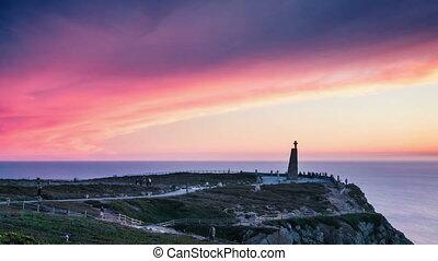 PORTUGAL Cabo da Roca, suset