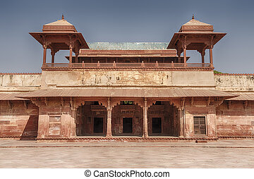 Queen's Palace Of Fatehpur