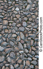 Stone floor pavement useful as a background