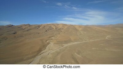 Aerial, Wide Landscape At Tamtetoucht, Morocco. Ungraded...