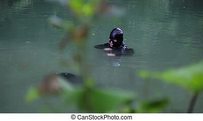 underwater special forces - Russia, summer 2010. Russian...