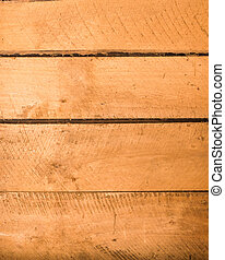 Four old rough wooden boards with saw marks - Wooden boards...