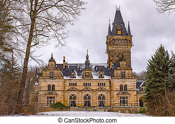 Hunting Lodge Hummelshain in winter II - The magnificent...