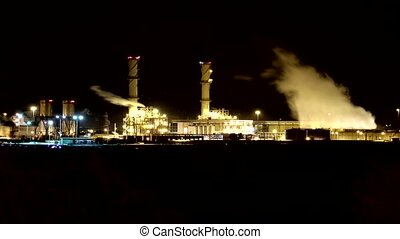 Time lapse video Smokestacks - Time lapse video smokestacks...