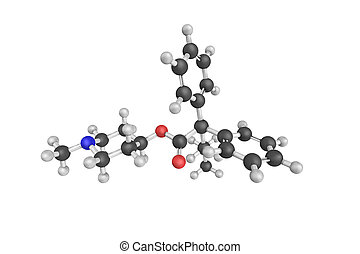 Propiverine, an anticholinergic drug used for the treatment...