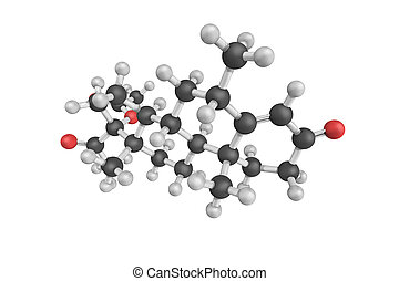 Medroxyprogesterone acetate, used as birth control and as...