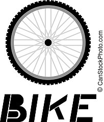 bike wheel illustration - design of bike wheel illustration