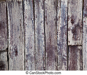 Weathered red painted wooden boards background - Vertical...