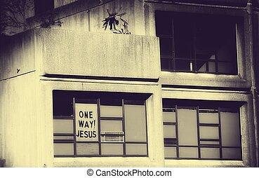 One Way! Jesus