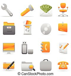 Office Icons | Yellow 11 - Professional icons for your...