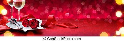 Romantic Dinner For Lovely Valentines Day