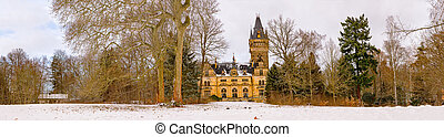 Hunting Lodge Hummelshain in winter V - The magnificent...