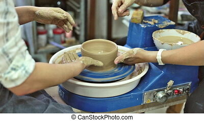 Education pottery. Making the bowl. Part 8. - Education...
