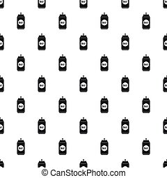 Aluminum beer can pattern, simple style - Aluminum beer can...
