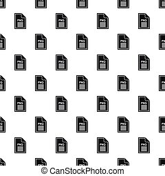 PNG file pattern, simple style - PNG file pattern. Simple...