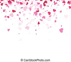 Love valentine's background with hearts. - Love valentine's...