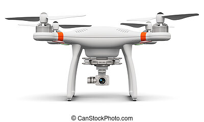 Quadcopter drone with 4K video and photo camera - Creative...