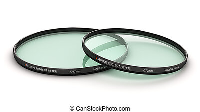 Group of professional photo neutral protect filters -...