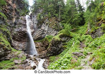 Arpiglia waterfall, Engadin, Switzerland